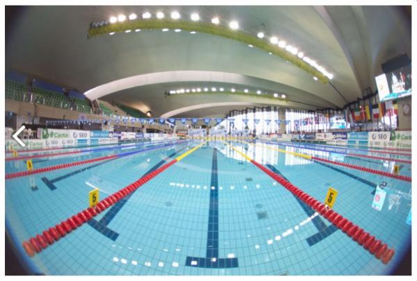 Meeting internationnal de natation du Luxembourg: Joé entre en lice.