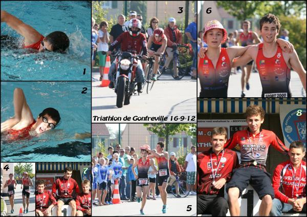 Triathlon de Gonfreville: Coup de chapeau à Samy et Joé!