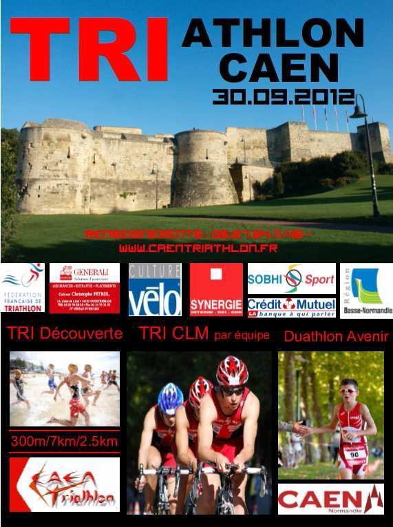 triathlon de Caen: Samy et Joé clôtureront leur saison, une dernière fois ensemble.