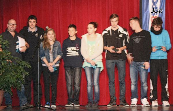 Remise des récompenses de la ville de Bolbec: Joé est mis à l'honneur!