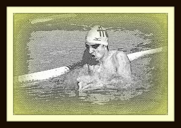 """Championnats de France de natation de nationale 2 """"été"""" à Laval: Joé se qualifie pour les """"France""""!"""