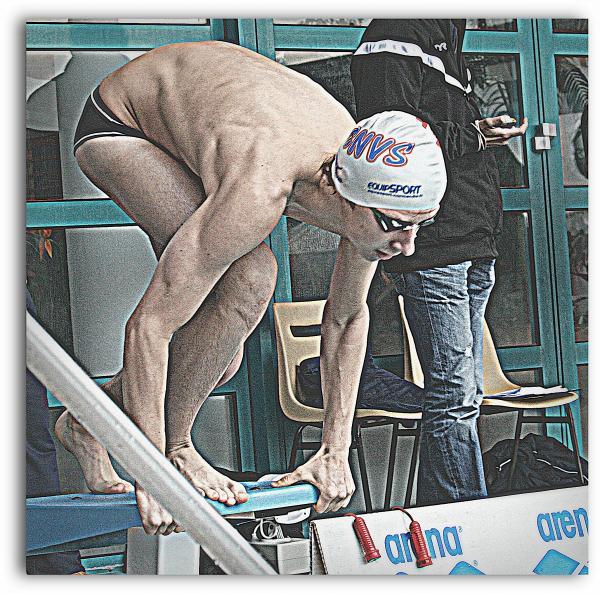 """Championnats de France de natation de nationale 2 """"été"""" à Laval: Joé abat ses dernières cartes!"""
