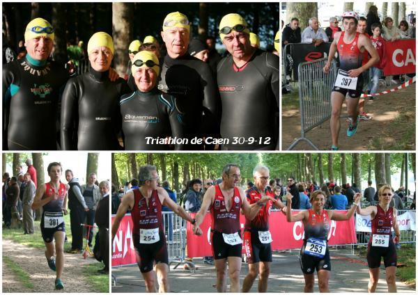 Triathlon de Caen: Samy et Joé achèvent leur saison sur le podium.