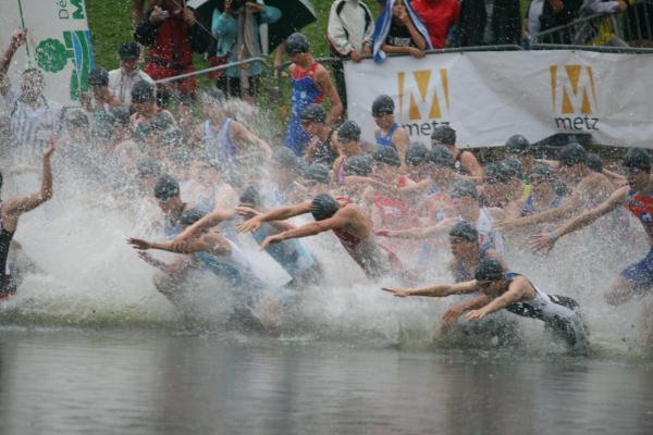 Championnats de France d'aquathlon à Metz: Joé laisse passer sa chance!