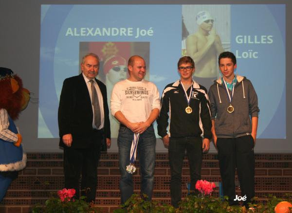 La ville de Notre-Dame de Gravenchon met ses sportifs à l'honneur: Joé est récompensé!