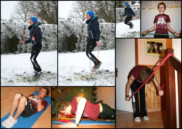 Championnats de france de nationale 2 de natation: Le retour de la neige fige Joé dans sa préparation.